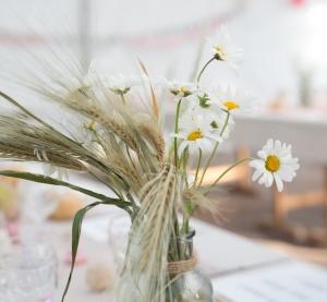 inspiration mariage - décoration champêtre